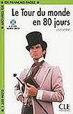 CLE International LECTURES CLE EN FRANCAIS FACILE NIVEAU 3: LE TOUR DU MONDE EN 80 JOURS + CD MP3 cena od 196 Kč