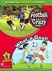 Macmillan Children´s Readers Level 4 Football Crazy / What A Goal! cena od 132 Kč