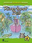 Macmillan Children´s Readers Level 4 Riverboat Bill cena od 140 Kč