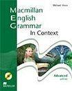 Macmillan English Grammar in Context Advanced - SB with Key CD ROM Pack cena od 588 Kč