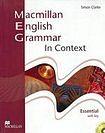 Macmillan English Grammar in Context Essential - SB with Key CD ROM Pack cena od 588 Kč