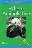 Macmillan Factual Readers Level 2+ Where Animals Live cena od 120 Kč