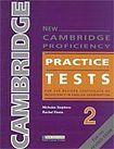 Heinle NEW CAMBRIDGE PROFICIENCY PRACTICE TESTS 2 STUDENT´S BOOK WITH KEY + CD PACK cena od 428 Kč