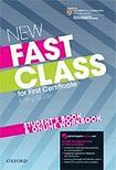 Oxford University Press New Fast Class for First Certificate Student´s Book and Online Workbook cena od 582 Kč
