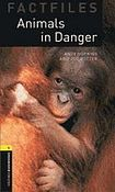 Oxford University Press New Oxford Bookworms Library 1 Animals in Danger Factfile Audio CD Pack cena od 137 Kč