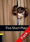 Oxford University Press New Oxford Bookworms Library 1 Five Short Plays Playscript Audio CD Pack cena od 143 Kč
