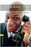 Oxford University Press New Oxford Bookworms Library 1 The Butler Did It and Other Plays Playscript cena od 92 Kč