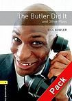 Oxford University Press New Oxford Bookworms Library 1 The Butler Did It and Other Plays Playscript Audio CD Pack cena od 162 Kč