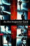 Oxford University Press New Oxford Bookworms Library 3 As the Inspector Said and Other Stories cena od 80 Kč