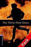 XXL obrazek Oxford University Press New Oxford Bookworms Library 4 The Thirty-Nine Steps Audio CD Pack