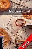 Oxford University Press New Oxford Bookworms Library 4 Treasure Island Audio CD Pack cena od 163 Kč