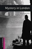 Oxford University Press New Oxford Bookworms Library Starter Mystery in London cena od 83 Kč