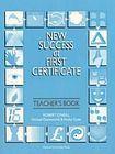 Oxford University Press NEW SUCCESS AT FIRST CERTIFICATE TEACHER´S BOOK cena od 460 Kč