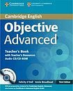 XXL obrazek Cambridge University Press Objective Advanced 3rd edition Teacher´s Book with Teacher´s Resources Audio CD/CD-ROM