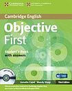 Cambridge University Press Objective First 3rd edition Student´s Book with answers with CD-ROM cena od 456 Kč