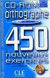 CLE International ORTHOGRAPHE 450 NOUVEAUX EXERCICES: NIVEAU DEBUTANT CD-ROM cena od 360 Kč