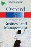 Oxford University Press OXFORD DICTIONARY OF BUSINESS AND MANAGEMENT 5th Edition cena od 262 Kč