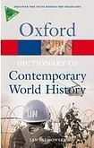 XXL obrazek Oxford University Press OXFORD DICTIONARY OF CONTEMPORARY WORLD HISTORY 3rd Edition