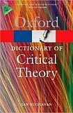 Oxford University Press OXFORD DICTIONARY OF CRITICAL THEORY cena od 235 Kč