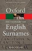 XXL obrazek Oxford University Press OXFORD DICTIONARY OF ENGLISH SURNAMES 3rd Edition