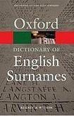 Oxford University Press OXFORD DICTIONARY OF ENGLISH SURNAMES 3rd Edition cena od 311 Kč