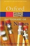 XXL obrazek Oxford University Press OXFORD DICTIONARY OF FIRST NAMES 2nd Edition
