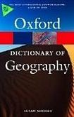 XXL obrazek Oxford University Press OXFORD DICTIONARY OF GEOGRAPHY 4th Edition