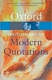 XXL obrazek Oxford University Press OXFORD DICTIONARY OF MODERN QUOTATIONS 3rd Edition