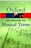 XXL obrazek Oxford University Press OXFORD DICTIONARY OF MUSICAL TERMS