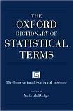 XXL obrazek Oxford University Press OXFORD DICTIONARY OF STATISTICAL TERMS