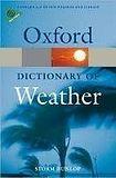Oxford University Press OXFORD DICTIONARY OF WEATHER 2nd Edition cena od 235 Kč