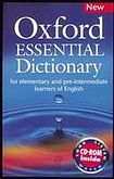 Oxford University Press OXFORD ESSENTIAL DICTIONARY + CD-ROM cena od 405 Kč