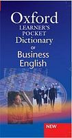 XXL obrazek Dan Parkinson: Oxford Learner´S Pocket Dictionary Of Business English