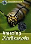 Oxford University Press Oxford Read And Discover 3 Amazing Minibeasts Audio CD Pack cena od 137 Kč