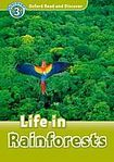 Oxford University Press Oxford Read And Discover 3 Life in Rainforests Audio Pack cena od 137 Kč