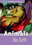 Oxford University Press Oxford Read And Discover 4 Animals in Art cena od 95 Kč
