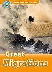 Oxford University Press Oxford Read And Discover 5 Great Migrations Audio CD Pack cena od 132 Kč