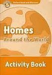 Oxford University Press Oxford Read And Discover 5 Homes Around The World Activity Book cena od 64 Kč