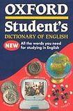 Oxford University Press OXFORD STUDENT´S DICTIONARY OF ENGLISH cena od 267 Kč