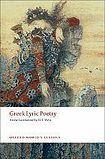 Oxford University Press Oxford World´s Classics - Classical Literature Greek Lyric Poetry cena od 287 Kč