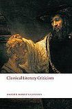 Oxford University Press Oxford World´s Classics Classical Literary Criticism cena od 295 Kč