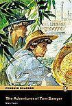 Penguin Longman Publishing Penguin Readers 1 Adventures of Tom Sawyer Book + CD Pack cena od 177 Kč