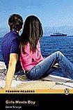 Penguin Longman Publishing Penguin Readers 1 Girl Meets Boy Book + CD Pack cena od 166 Kč