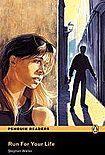 Penguin Longman Publishing Penguin Readers 1 Run for your Life Book + CD Pack cena od 157 Kč