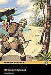 Penguin Longman Publishing Penguin Readers 2 Robinson Crusoe Book + MP3 audio CD cena od 194 Kč