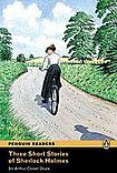 Penguin Longman Publishing Penguin Readers 2 Three Short Stories of Sherlock Holmes cena od 154 Kč