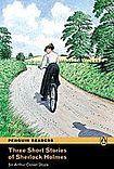 Penguin Longman Publishing Penguin Readers 2 Three Short Stories of Sherlock Holmes Book + MP3 Audio CD cena od 178 Kč