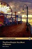 Penguin Longman Publishing Penguin Readers 5 The Five People You Meet in Heaven Book + MP3 Audio CD cena od 180 Kč
