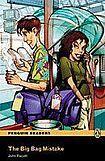 Penguin Longman Publishing Penguin Readers Easystarts The Big Bag Mistake Book + CD Pack cena od 162 Kč