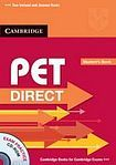 Cambridge University Press PET Direct Student´s Pack (Student´s Book with CD-ROM a Workbook without Answers) cena od 500 Kč